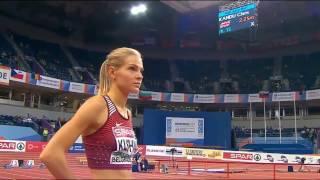 Darya Klishina Дарья Клишина 2017 3v European Indoor Championships Belgrade qualifications March 4th