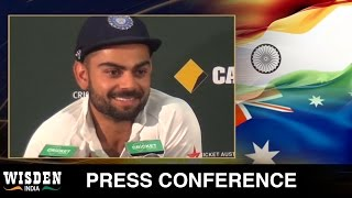 Virat Kohli press conference | Australia v India, First Test, Close of Play | Wisden India