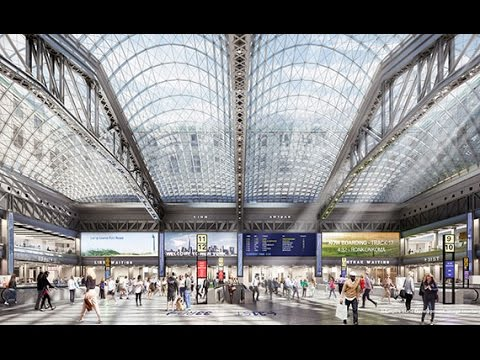 Here's what the Moynihan Train Hall will look like
