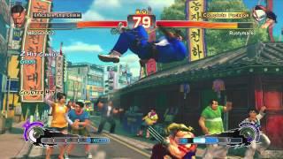 Usf4 Ranked Matches 26: Spanish Ninja Vs British Bulldog