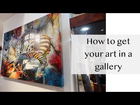 How to get your art in a gallery - ART BUSINESS - Elli Milan