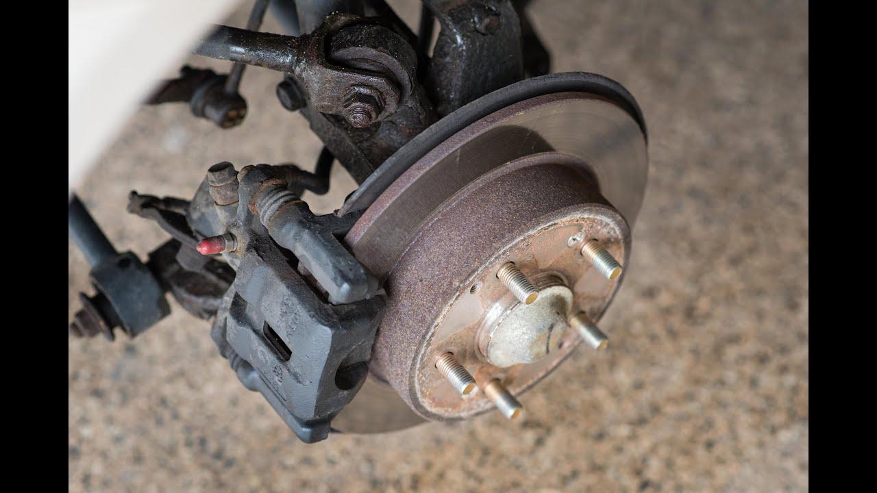 how to replace rear wheel bearing hub 1998 2002 honda accord j rh youtube com 1997 Acura CL 3.0 Acura RSX