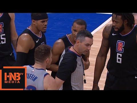 Blake Griffin & Avery Bradley Skirmish / Pistons vs LA Clippers