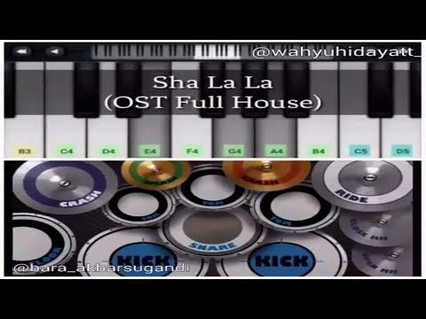 Real Drum : Sha La La OST Full House by Wahyu Hidayat