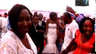 Watch Teju Babyface Church Wedding Reception