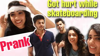 PRANK ON NIGAM BROTHERS 😂 *Got Hurt* | Chinki Minki