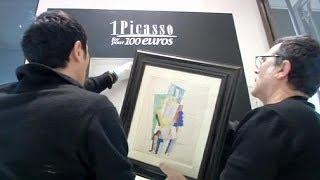 Купить картину Пикассо за 100 евро? Легко!
