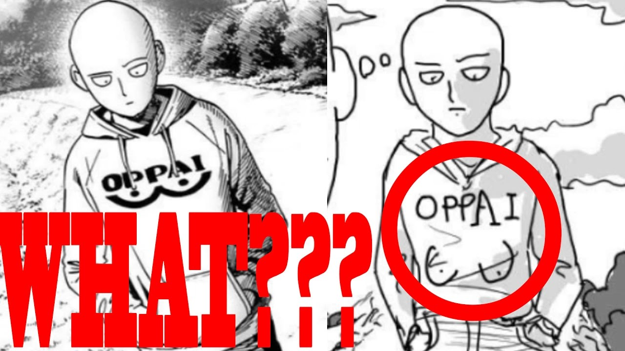 One Punch Man Art Comparision Part 2 One Original Murata Illustration Ch7 16 Youtube
