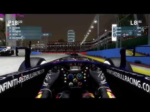 F1 2013, Zero To Hero, Vettel, Singapore