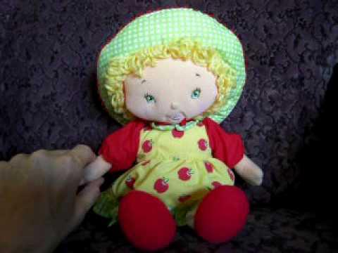 Talking Apple Dumplin Strawberry Shortcake Doll Youtube