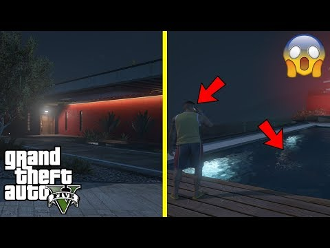 GTA 5 - OMG Devin's Mansion is HAUNTED!