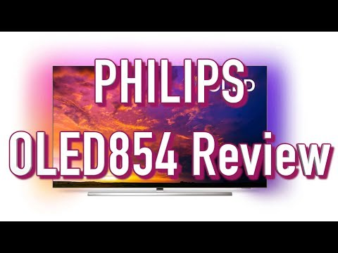Philips OLED854 4K OLED TV Review