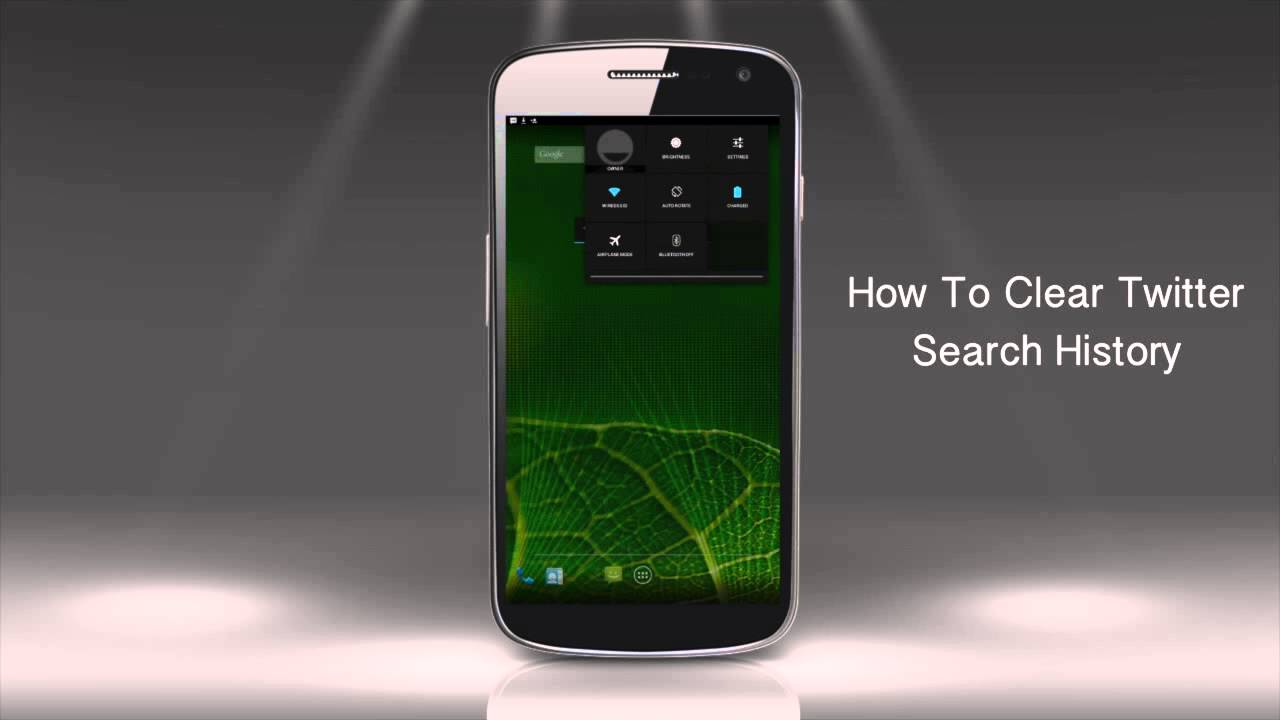 How To Clear Twitter Search History On Android Device