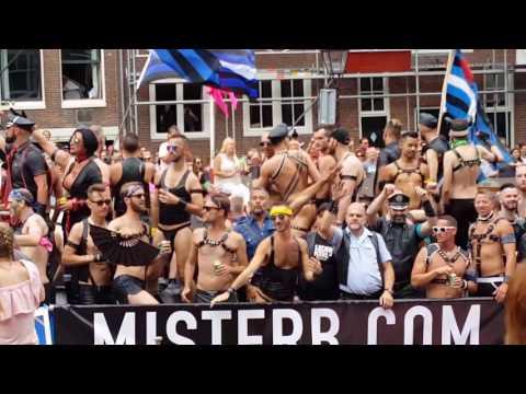 Gay Canal Pride Amsterdam 08-2017