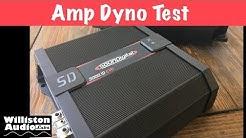 SounDigital SD 3000.1D EVO II Amp Dyno Test