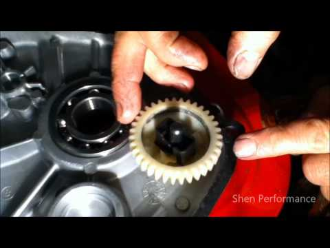 How to remove the governor from a g270 go kart engine 9HP lawn mower