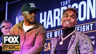 Best of Tony Harrison vs. Jermell Charlo II Press Conference | PBC ON FOX