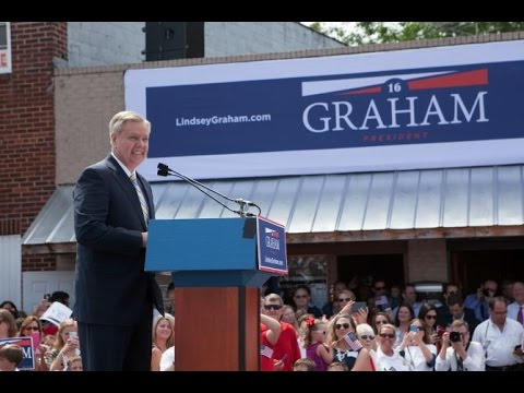 Sen Lindsey Graham stops presidential campaign