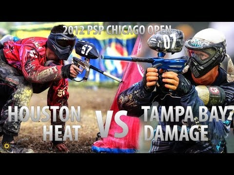 Houston Heat vs. Tampa Bay Damage - 2012 PSP Chicago Open - Paintball Rivalry Match