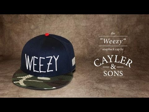 Cayler   Sons Weezy Snapback Navy Camouflage White Red - YouTube 382c031a0db