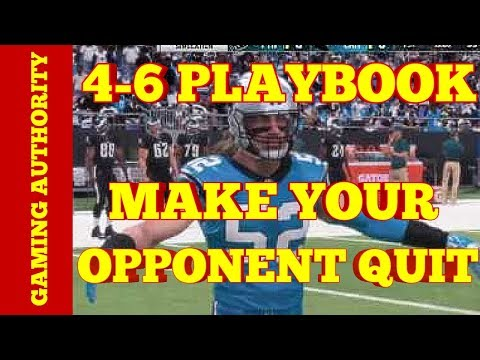 MADDEN 18 BEST BLITZ, BEST RUN STOPPER, BEST COVERAGE PLAY FROM THE 4-6 DEFENSIVE PLAYBOOK