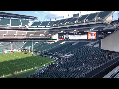 2019 Philadelphia Eagles VIP Presidential Suite Experience With The Bradleys -  Eagles Football Fan