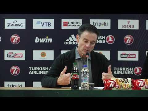 Euroleague Post - Game Press Conference: Panathinaikos OPAP Athens vs Khimki Moscow Region