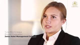 Отзыв. Юлия Рибчинская про обучение в SHMS, Швейцария