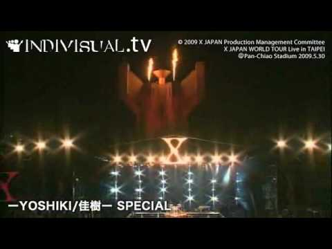 X JAPAN Live in Taipei live影...