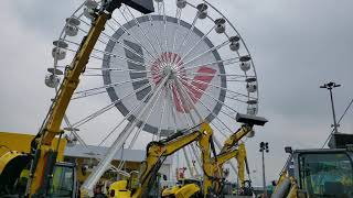 Video still for Wacker Neuson Ferris Wheel at bauma 2019