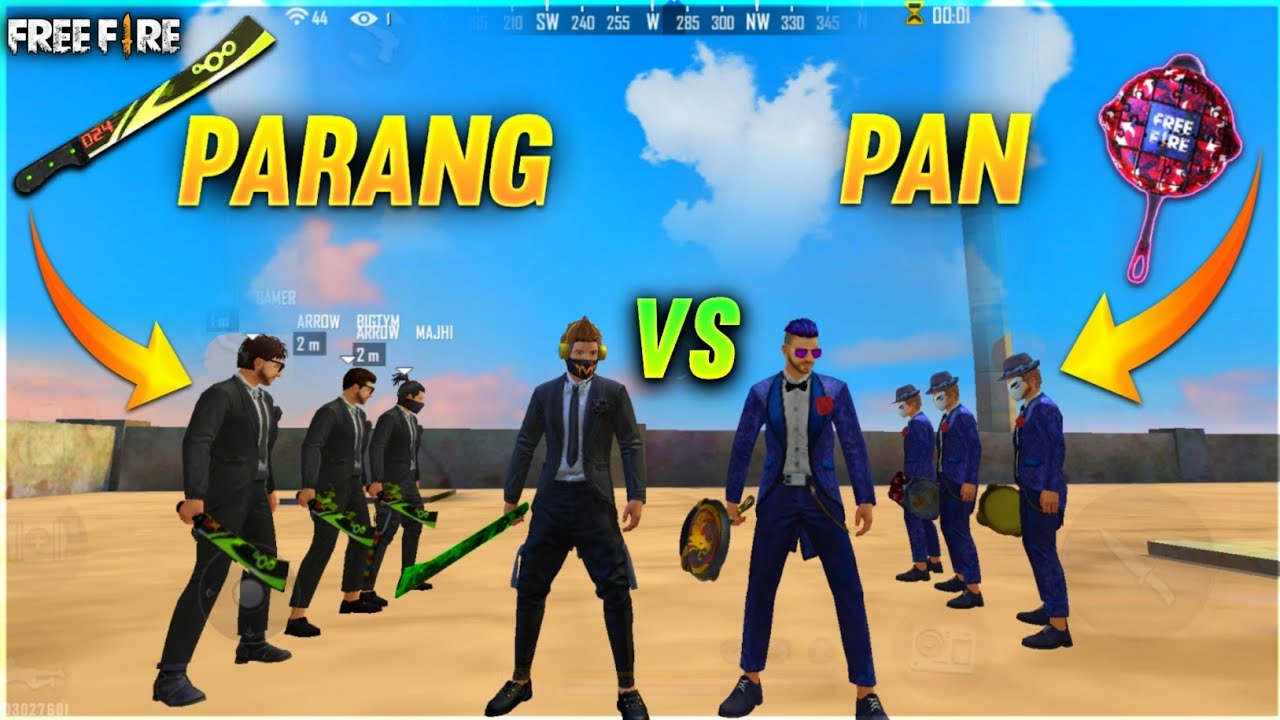 PAN VS PARANG FACTORY CHALLENGE 😂| 4 VS 4 WHO WILL WIN ?|#factoryfreefire #Totalgaming A_s Gaming