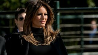 Where is first lady Melania Trump?