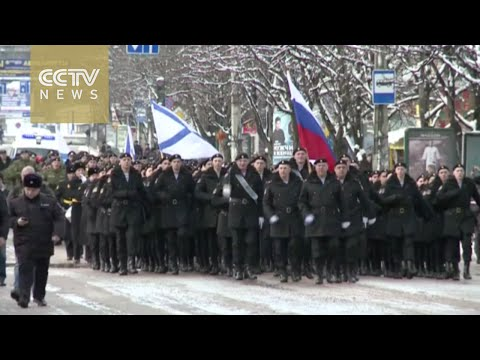 Crimea marks one year since joining Russia