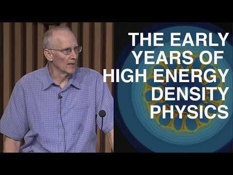 The Beginnings of High Energy Density Physics at LLNL | The Castor Symposium