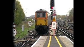 Freight Action In The South east - 21/11/10 Including Class 73 On GLV Move & 7X80 Class 380 Drag(, 2012-08-19T19:18:02.000Z)