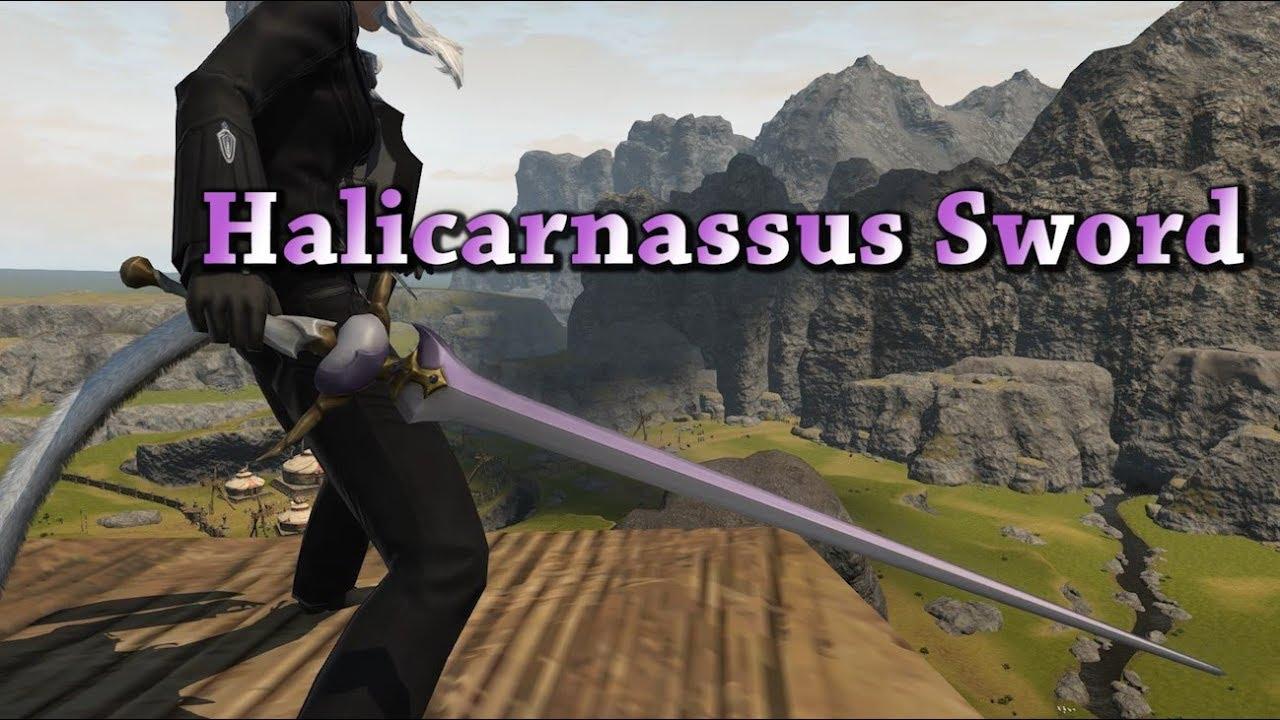 FFXIV: Halicarnassus Sword Glamour