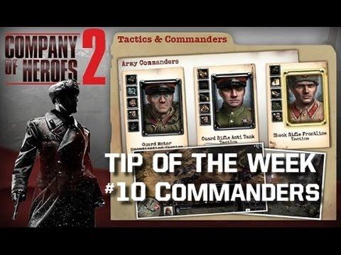 CoH2 - Tip of the Week #10 Commanders