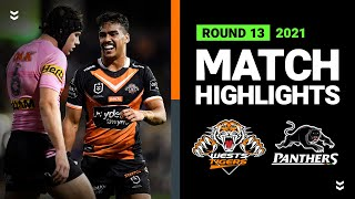 Wests Tigers v Panthers Match Highlights   Round 13, 2021   Telstra Premiership   NRL