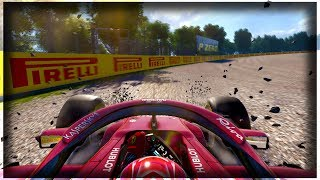 THINGS DIDN'T GO TO PLAN           - F1 2018