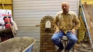 Build Your Own Masonry Mailbox (mailbox Maximizer) Part 3