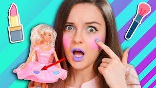 КРАШУСЬ ДЕТСКОЙ КОСМЕТИКОЙ 1997 года! Кукла Twirlin' Make-Up Barbie / Обзор, распаковка
