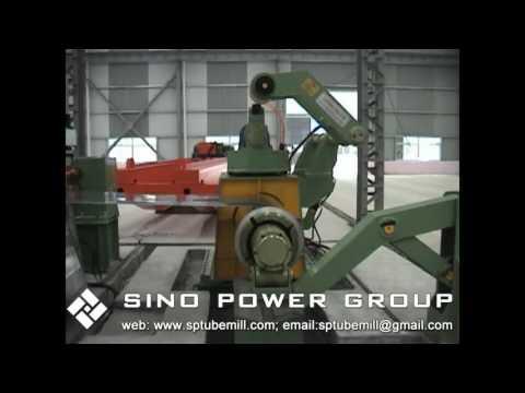 SP0.3-3x1250mm high-speed membrane- steel sheet cut to length line-Sino Power Group