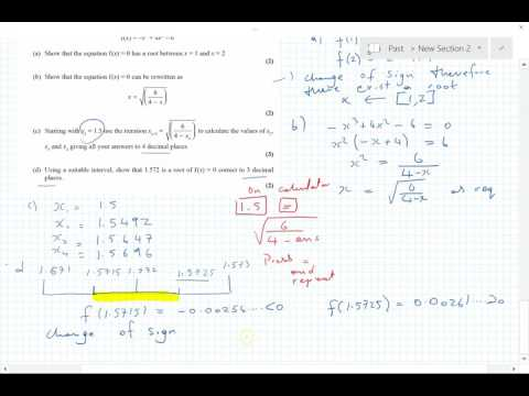 C34 Edexcel Jan 2016 part 2 qu 5, 6, 7