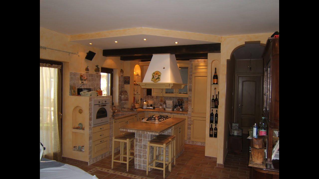 La cucina in muratura youtube - Cucina per tavernetta ...