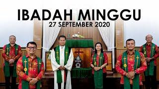 Ibadah Minggu 27 September 2020 untuk Umum