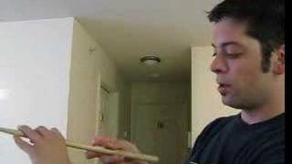 Drumstick spinning tricks (four-finger spin)