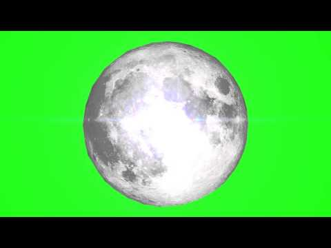 Moon - Green Screen Royalty Free Footage thumbnail