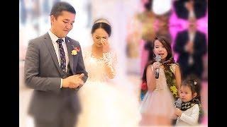 Сёстры спели на свадьбе очень трогательно  до слёз