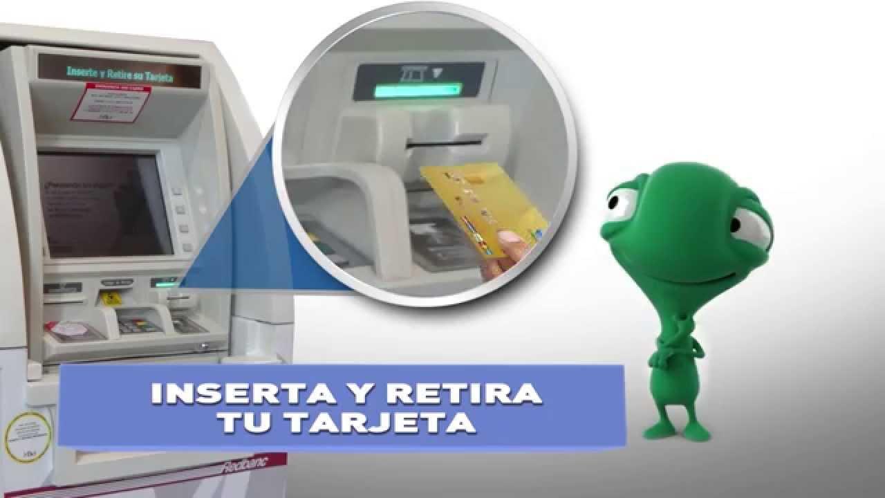 Uso de las tarjetas de cr dito y d bito con chip en los for Los cajeros automaticos