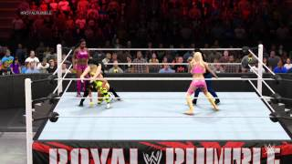 WWE 2K15 Divas Battle Royal